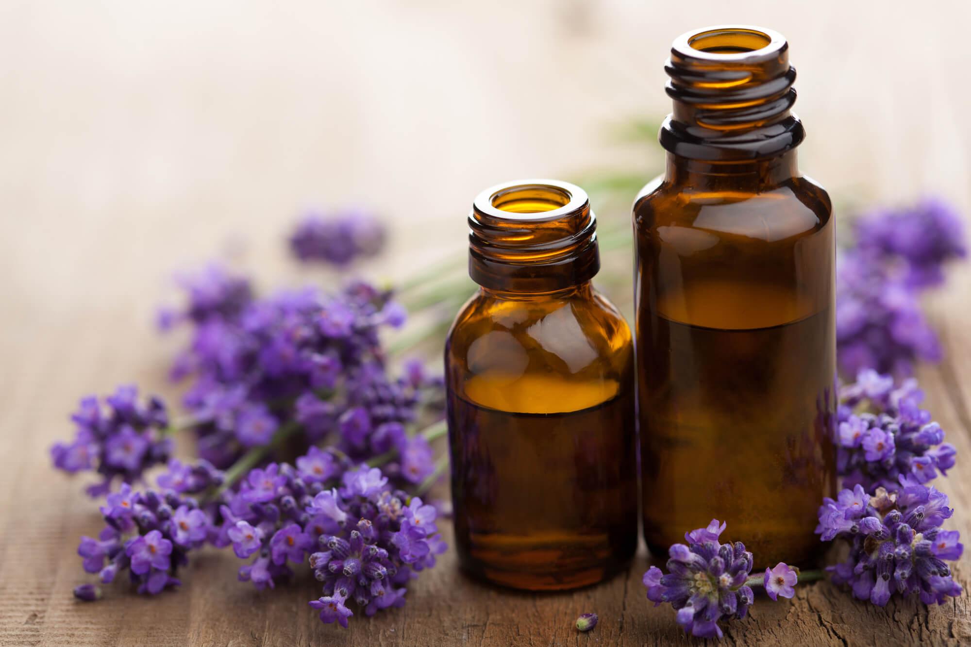 Lavendel æterisk olie
