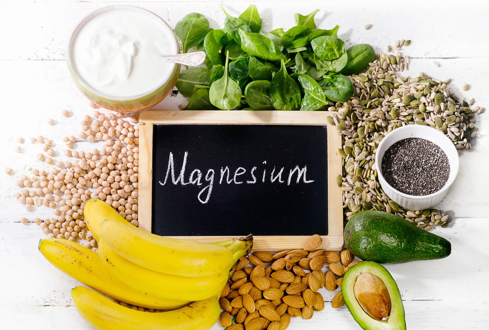 Magnesium findes i Epsom salt