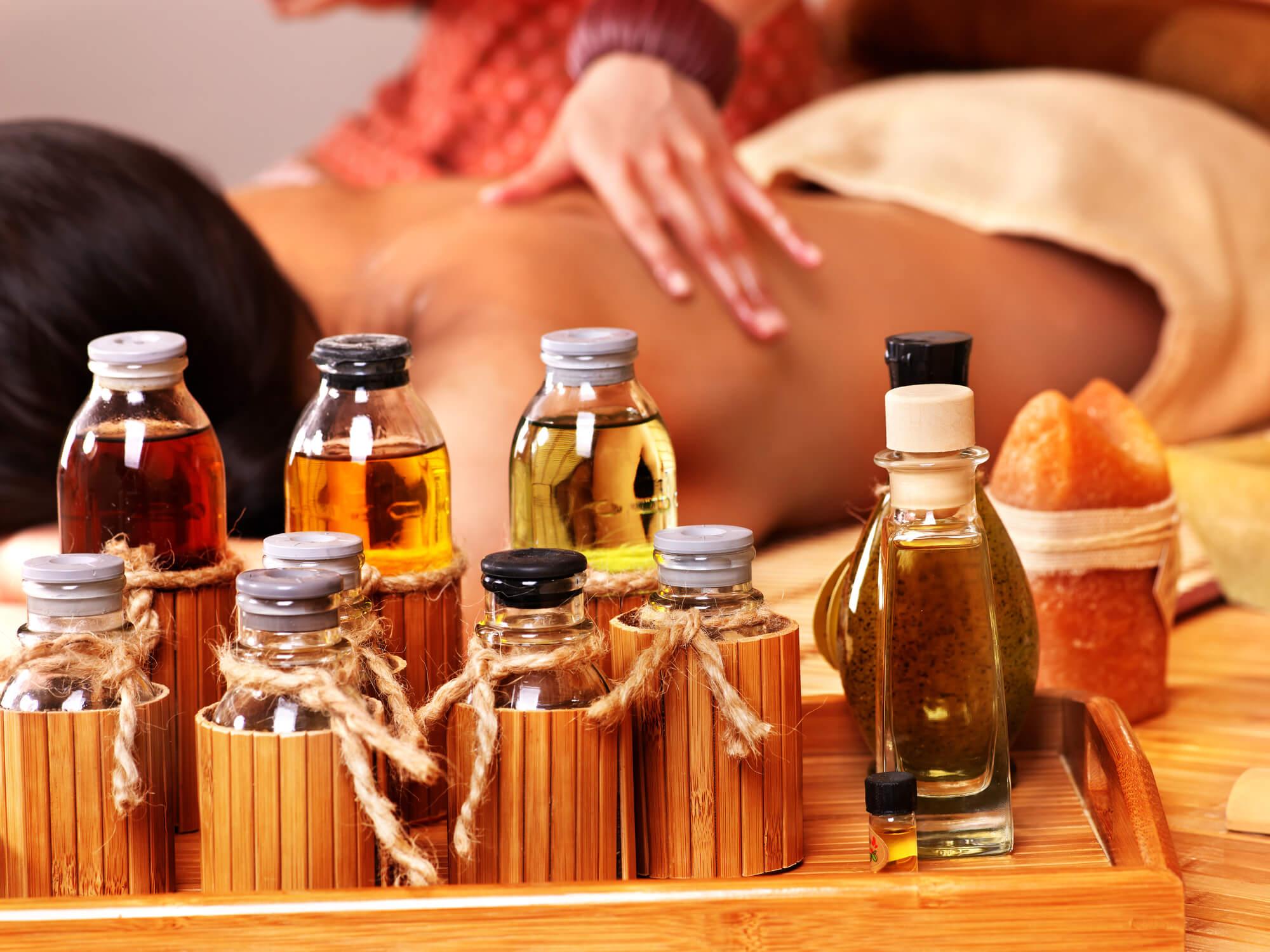 Massage som aromaterapi