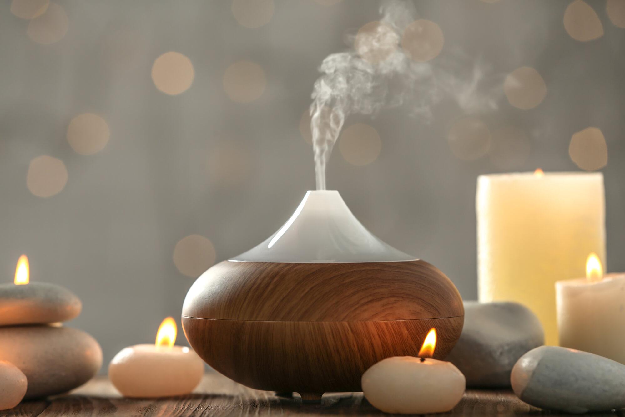 olielampe diffuser aromaterapi