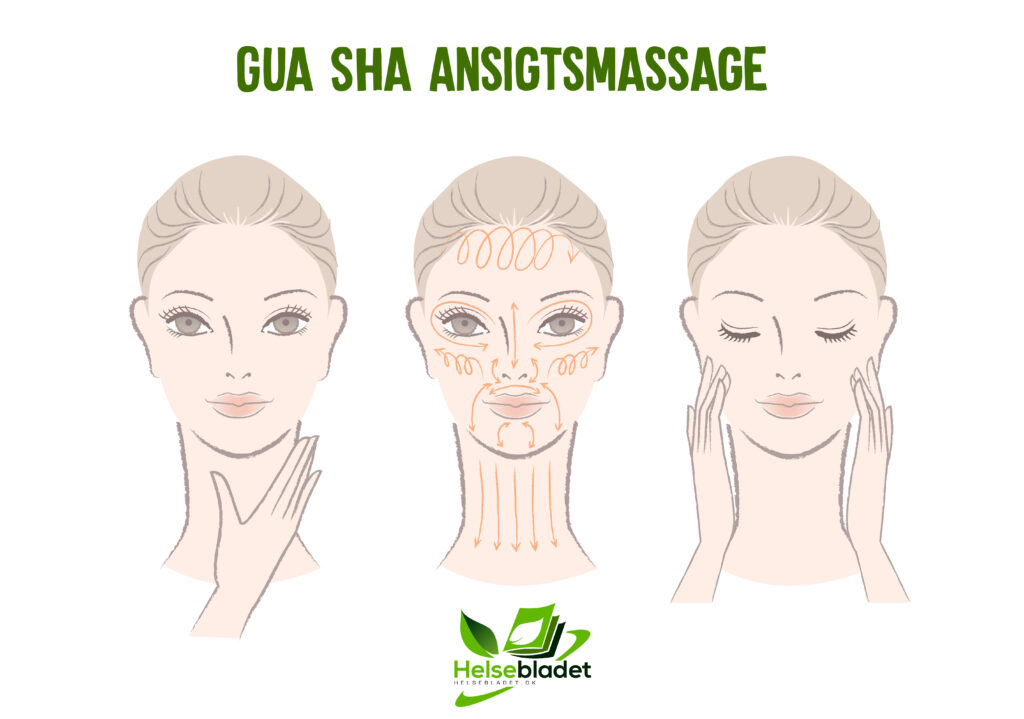 Gua sha ansigtsmassage
