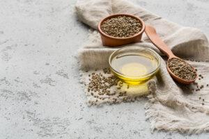 hampefrø olie til huden