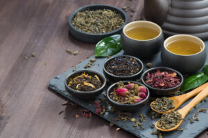 De forskellige former af tesorter - te