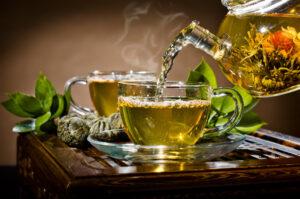 grøn te naturmedicin mod angst