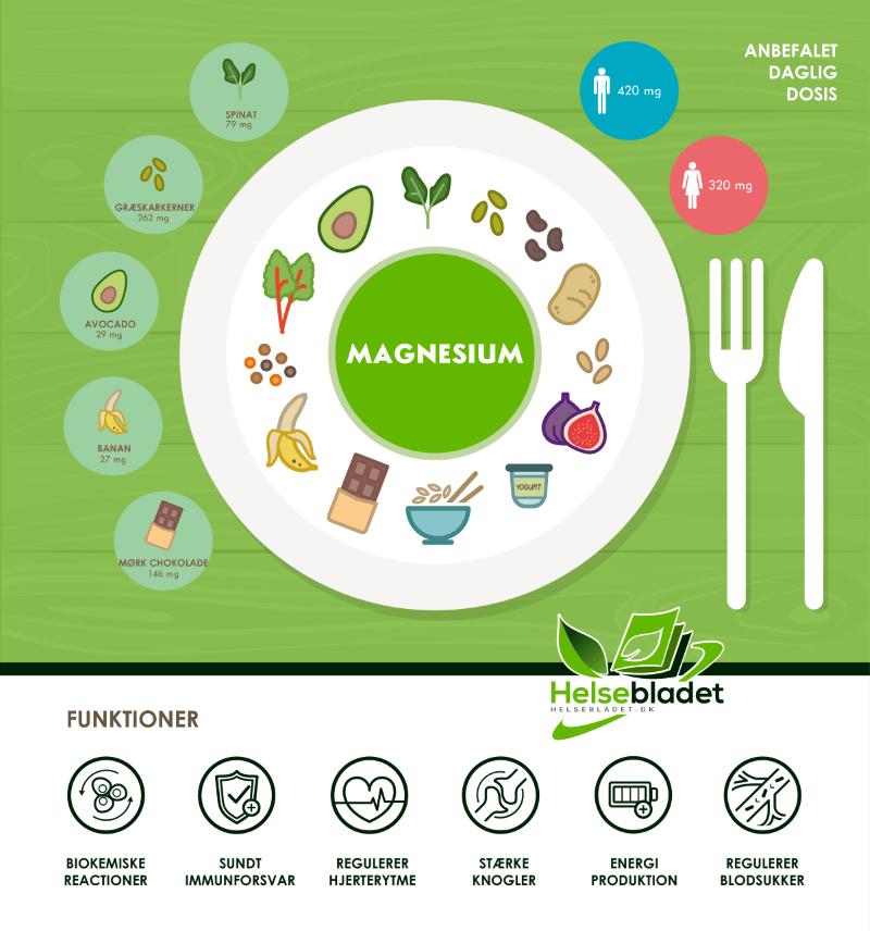 magnesium tilskud infografik