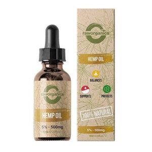 Raw Organics cbd olie test