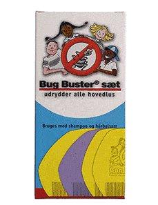 Bug Buster tættekam – sæt med 5 stk