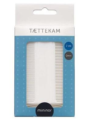 Mininor Tættekam 2 stk